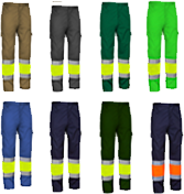 pantalons alta visibilitat