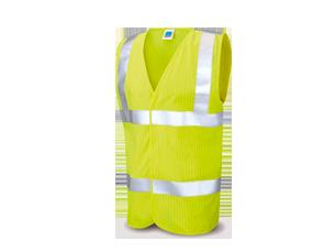 armilla alta visibilitat ignífug